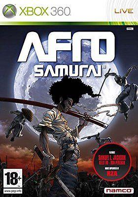 NEW* Afro Samurai - XBOX 360