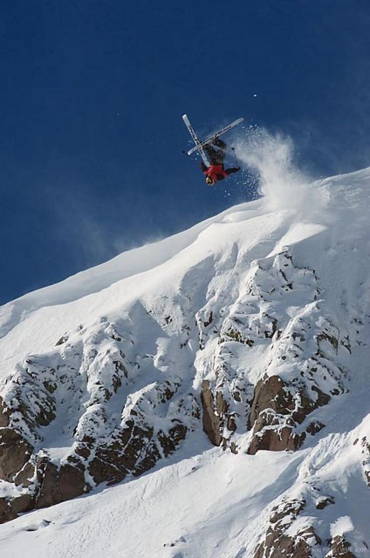 Warren Miller athlete Jonny Moseley in Lake Tahoe. #skiing