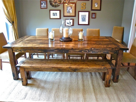 DIY Farmhouse Table @ Do it Yourself Home Ideas