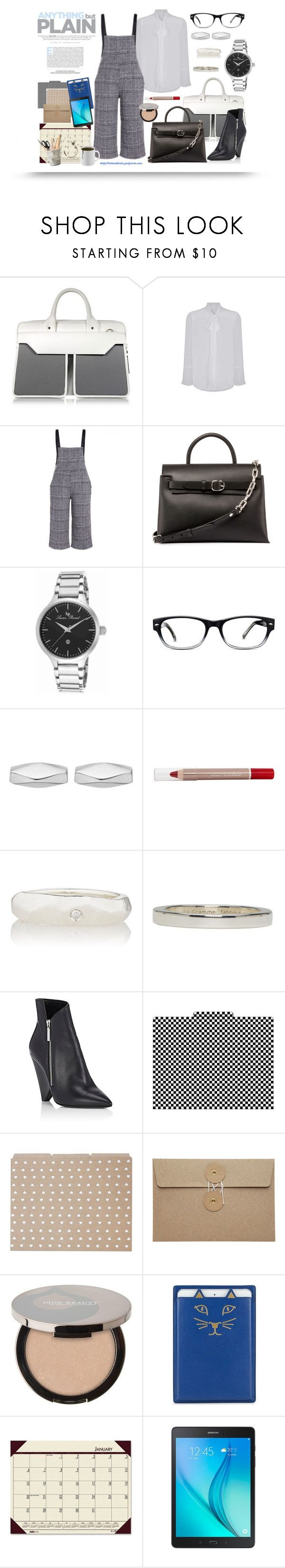 """""""Workin' It - Plus Size"""" by virtudiaries ❤ liked on Polyvore featuring Aznom, Alexander Wang, Lucien Piccard, GlassesUSA, Astley Clarke, Ali Grace, Le Gramme, Barker Creek, The Pink Orange and Juice Beauty"""