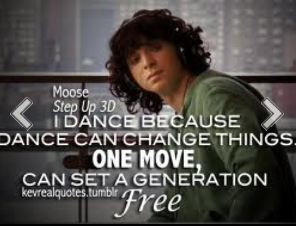 who is moose from step up 3 dating Do you know step up 3d mini eleanor calder 1 12 what is the name of the team moose is in ninjas pirates what 2 things does moose major in dance and art.