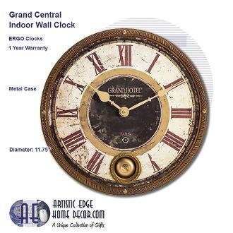 ERGO Grand Hotel Pendulum Clock