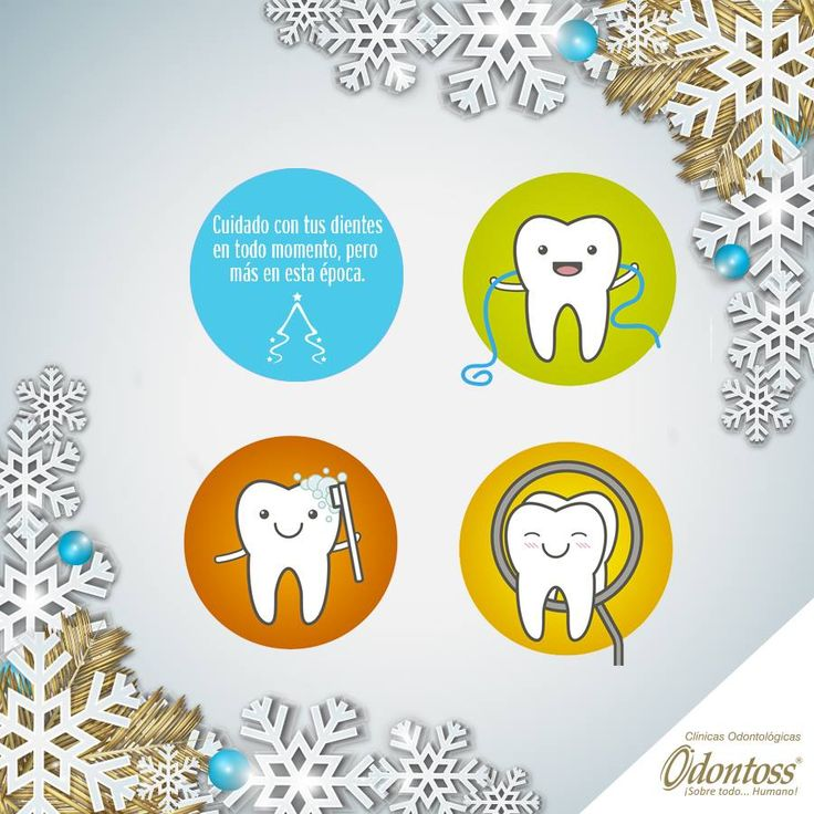 Sabemos que por estos días pecamos aquí y allá con la comida, por eso hoy queremos recordarte el cuidado de tu salud oral para que inicies el año con una hermosa sonrisa.