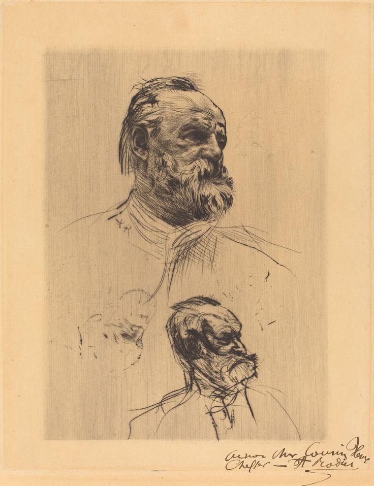 Victor Hugo, De Trois Quarts - Auguste Rodin, 1884