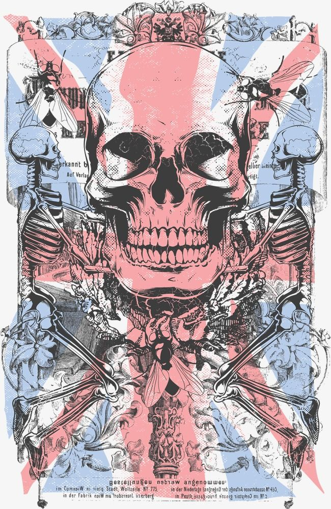 Fashion Skull Pattern Prints Garment Printing Garment Printing Design Png Transparent Clipart Image And Psd File For Free Download Skull Art Skull Skull And Bones