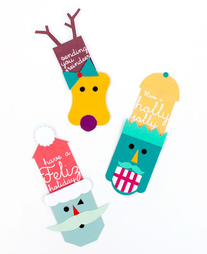 Handmade Charlotte thinks outside the box with Fiskars Tag Maker punches and these adorable handmade gift tags. How would you update yours for each season or holiday?