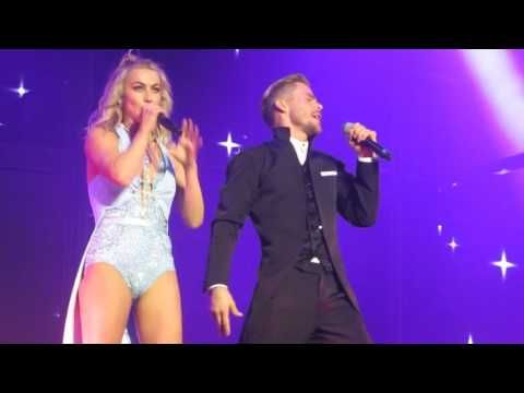 Julianne & Derek Hough Show Off Their Insane Vocal Skills With Adorable Disney Medley | Country Music Nation