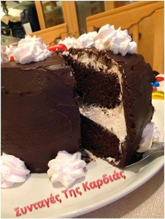 ΣΥΝΤΑΓΕΣ ΤΗΣ ΚΑΡΔΙΑΣ: Τούρτα σοκολάτα του Αγίου Βαλεντίνου