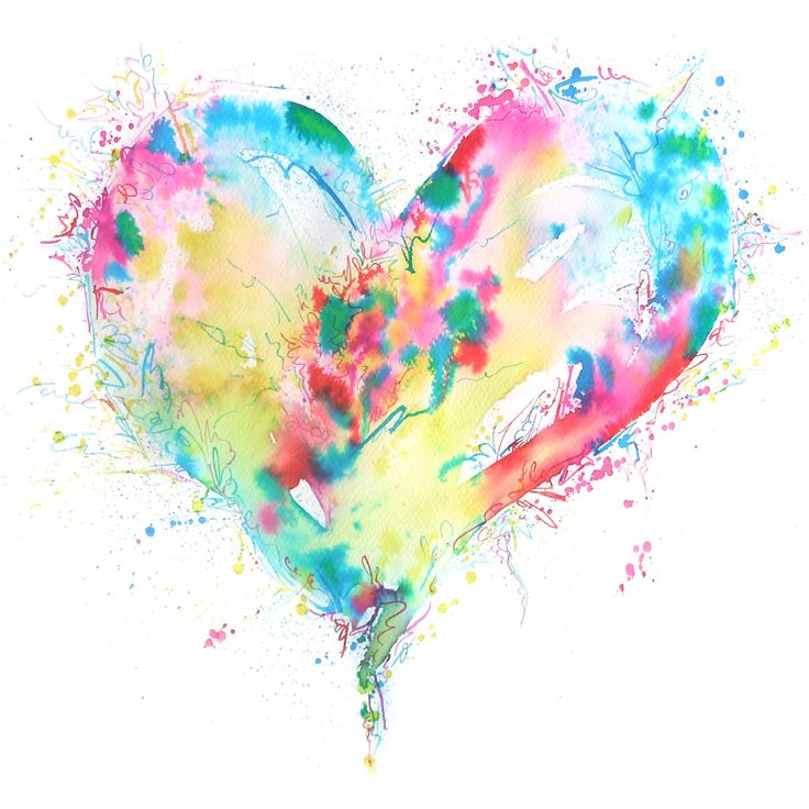 I love all the different colours and the way that they have made a simple heart shape interesting.