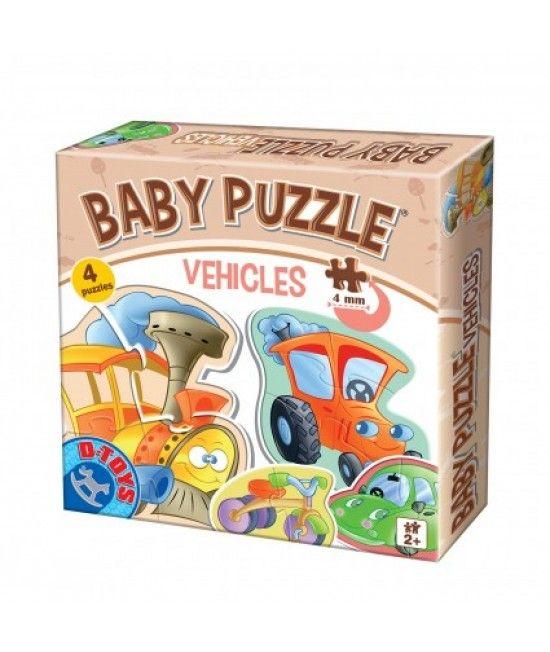 Puzzle-ul din gama Baby Puzzle este special conceput pentru copii cu varste cuprinse intre 2 si 4 ani.