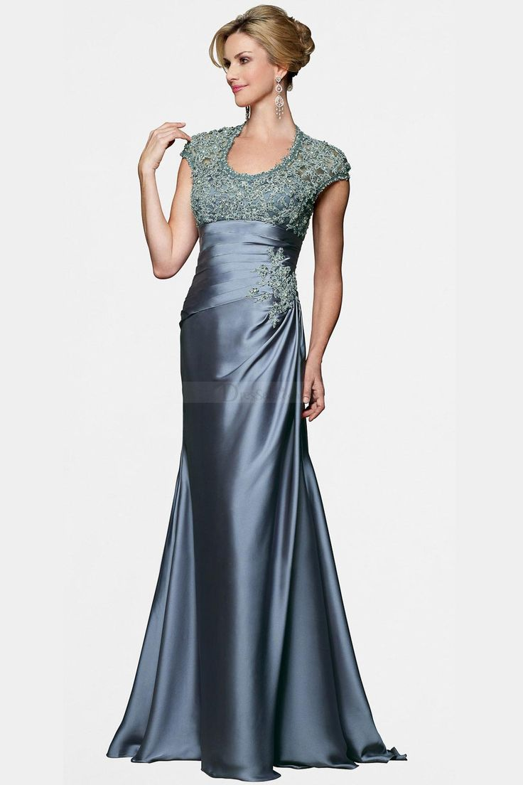 Gorgeous Mother of the Bride Dress with Intricate Decoration - Dressale.com