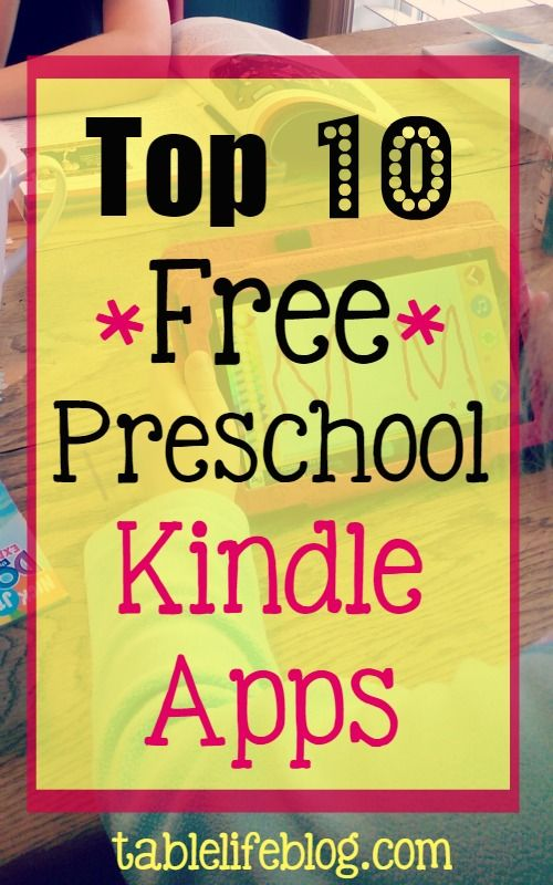 Top 10 Free Preschool Kindle Apps For more information about the best Mobile App go to http://ticksandtots.com/