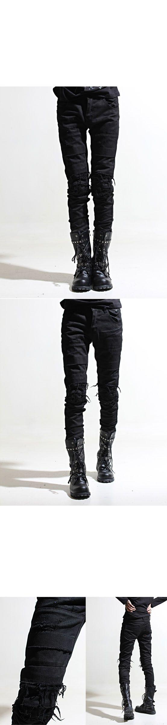 http://www.rebelsmarket.com/products/avant-grade-hardcore-vintage-black-slim-biker-jeans-56865