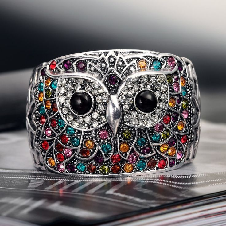 Owl Cuff - Chic Owls to Accessorize Your Look