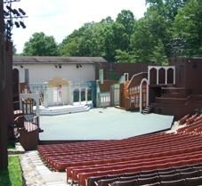 Nestled in the majestic scenery of the Grandview National Park of the New River Gorge National River System, Cliffside Amphitheatre has hosted the outdoor productions of Theatre West Virginia for the last 51 years.