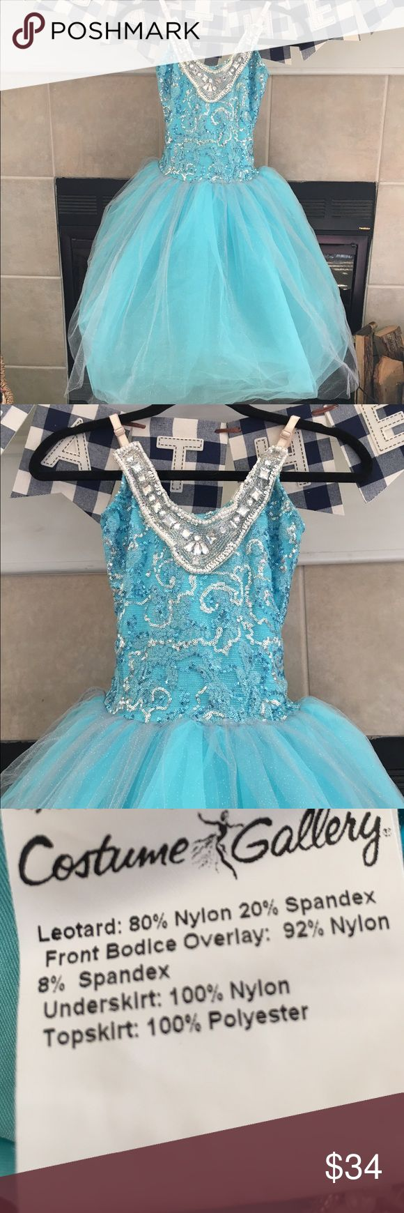 Gorgeous Costume Ice Princess (Think Elsa) 🎈LOWEST🎈Pre💙 Gorgeous (Think Elsa) Ice Princess Costume. This is not a standard, inexpensive costume.  💎This is a quality, high end dance costume perfect to double as a Halloween costume. No one will have one like it!!❄️❄️❄️❄️ ❌No known defects or stains. ❌No lowball offers.  ❌No trades. 👑This is completely beautiful with beadwork, adjustable straps, a hidden leotard and mounds of tulle!👸🏻Amazing opportunity for your princess!  ✨Ours is a non…