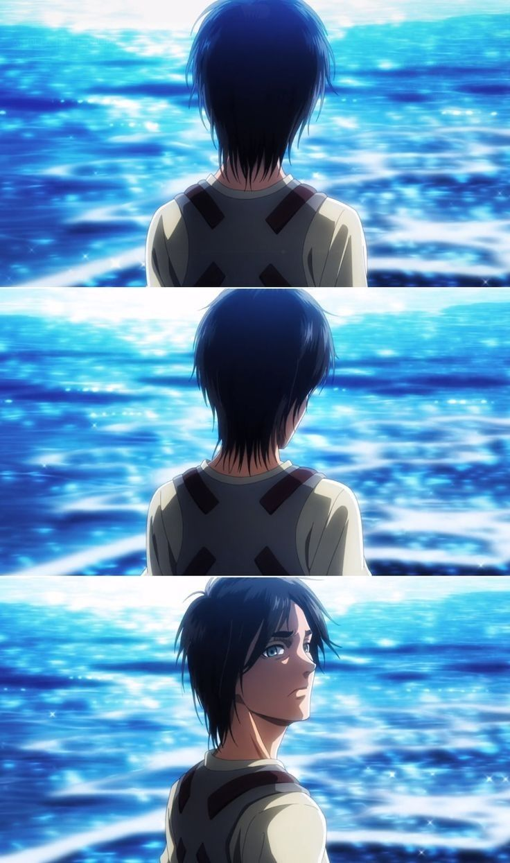 Eren Snk Season 3 Part 2 Ocean Attack On Titan Anime Attack On Titan Art Attack On Titan Season