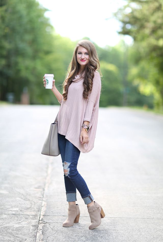 really cute cowl neck poncho