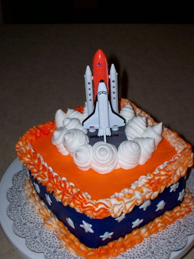 Space Shuttle cake option