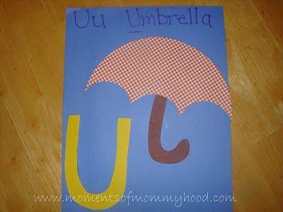 U is for...Umbrella