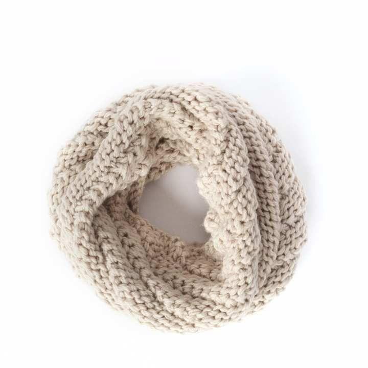 Alma Knitwear - Niki Alpaca Scarf Beige
