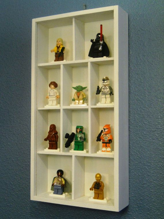 For all those mini figures laying around the bedroom floor.