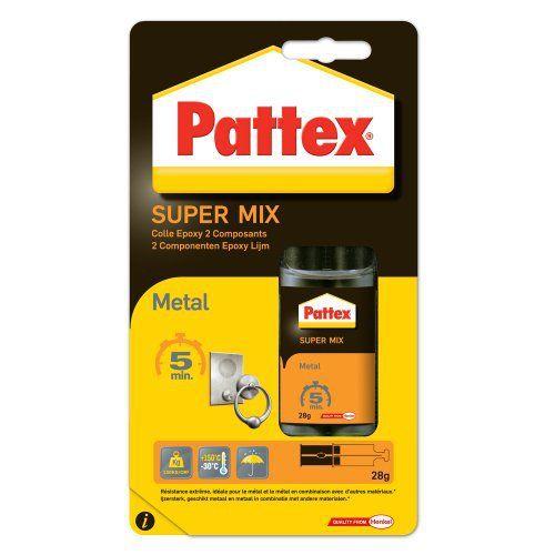 Pattex Colle Epoxy Liquide Métal 5 mn Seringue 25 ml: Price:5.99Collage rapide et restauration de la plupart de matériaux tels que le…