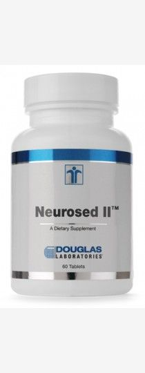 Neurosed II by Douglas Laboratories is a synergistic blend of several key vitamins, minerals and herbs carefully formulated and specially designed for neurological support.