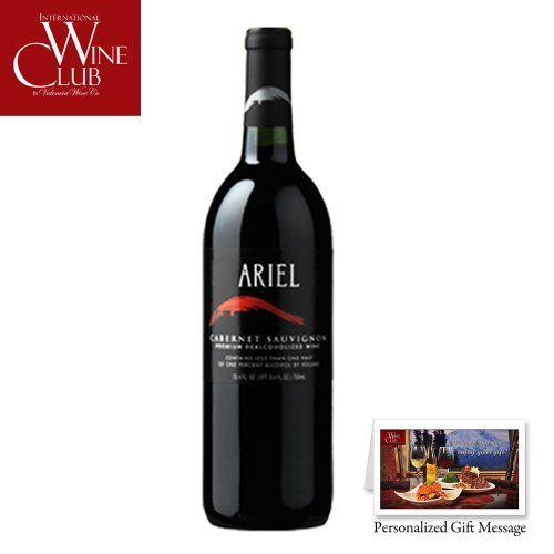 Ariel Cabernet Sauvignon Non-Alcoholic Red Wine - http://www.wineracksaccessories.com/ariel-cabernet-sauvignon-non-alcoholic-red-wine/