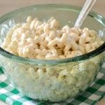Sour Cream Cheddar Pasta Salad   – Andy's Birthday