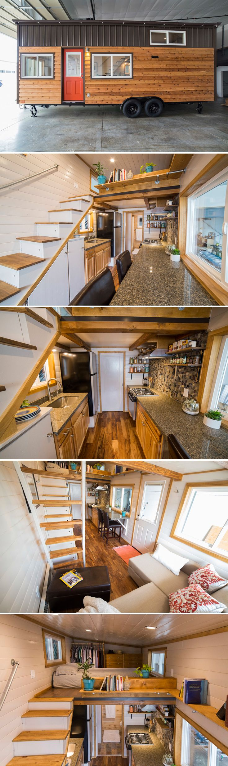 After completing several tiny houses, Shannon Black decided to build full-time and started a business, Big Freedom Tiny Homes, in Bellingham, Washington.