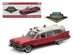 1959 cadillac ambulance red and white precision collection 1 18 rh pinterest com