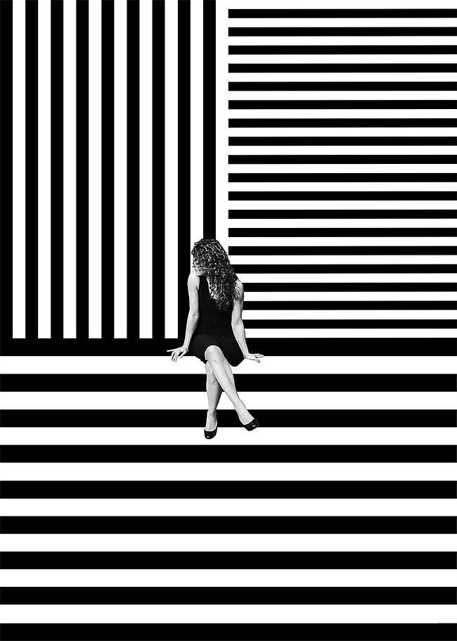 Optical Illusion Series by Erika Zolli – Fubiz Media