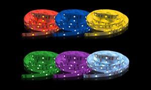 Groupon - Rouleau LED blanc ou multicolore 5m RGB avec télécommande dès 39,90€ (jusqu'à 66% de réduction) à [missing {{location}} value]. Prix Groupon : 39,90€