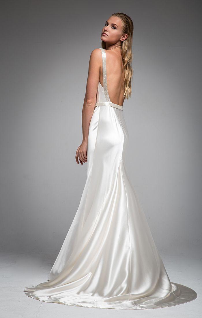 9 best Goddess Vintage Inspired Silk Wedding Gowns images ...