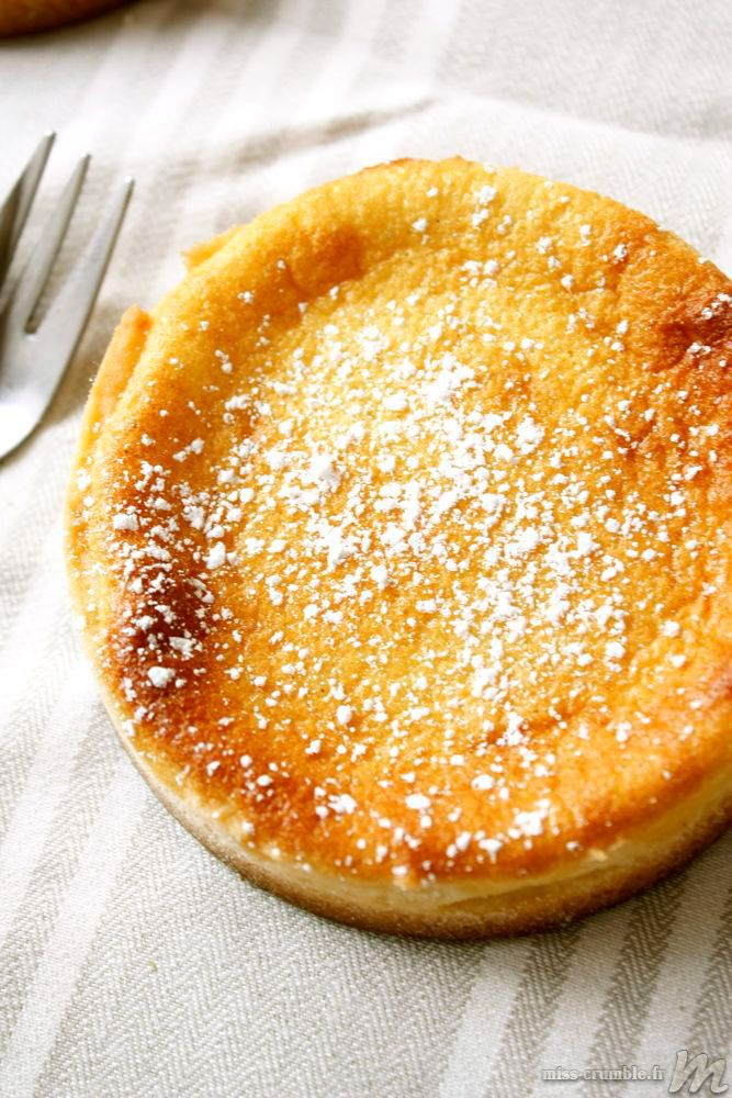 Tarte au fromage blanc Recipe instructions in French