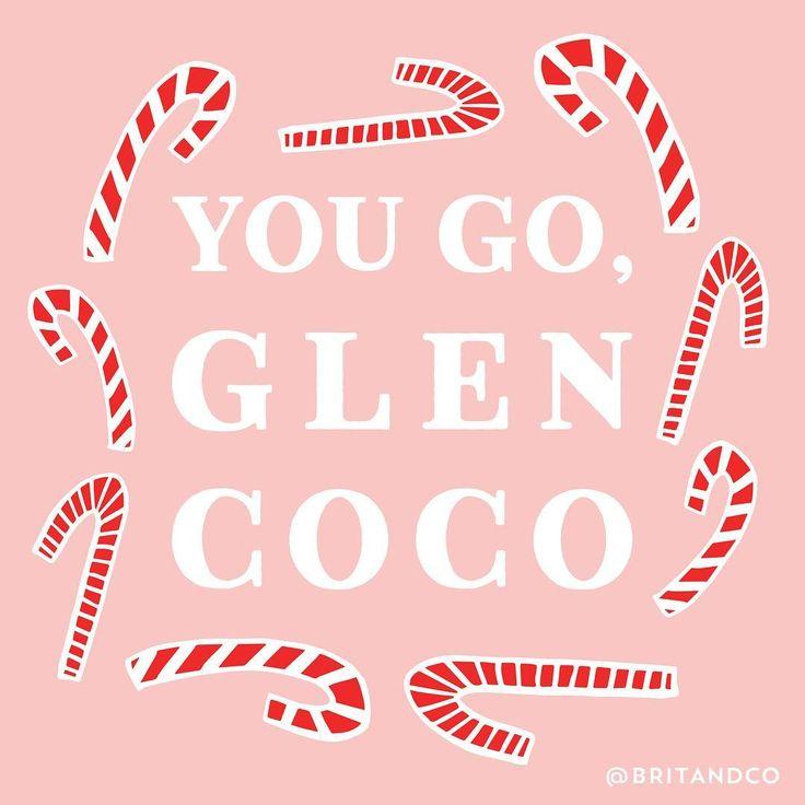 Four for you, Glen Coco. You go, Glen Coco.