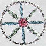 Free Mandala online mini course & Monday Mandala is back :-) - Louise Gale | Mixed Media Color Artist | Color| Paper |Inspiration | Create
