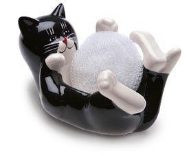 Gato porta esponja