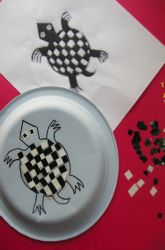 Activities: Make an Aztec Inspired Mosaic Plate