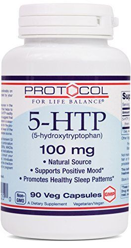 HOW IT WORKS: 5-HTP is the intermediate precursor in the natural synthesis of serotonin, a neurotransmitter that helps to regulate mood, appetite, and sleep/wake cycles.* 5-HTP readily crosses the blood-brain barrier and clinical studies suggest that 5-HTP can support healthy serotonin levels.*... more details at http://supplements.occupationalhealthandsafetyprofessionals.com/supplements-2/5-htp/product-review-for-protocol-for-life-balance-5-htp-5-hydroxytryptophan-100-mg-sup
