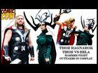 [self]Ragnarok: Thor vs Hela hammer battle outtakes at Comic Con Germany 2017 Cosplay