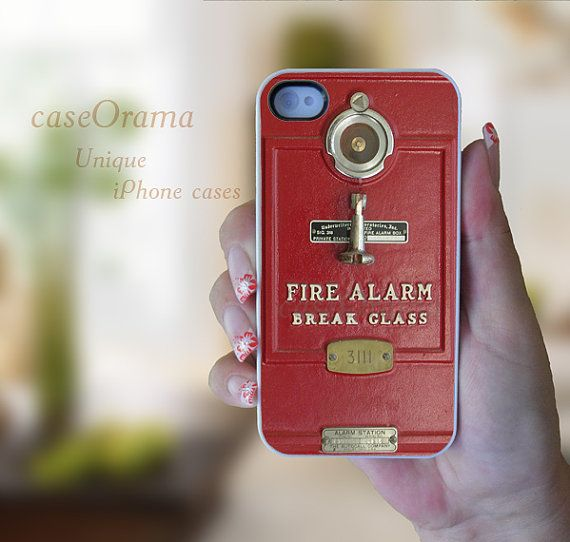 Fire Alarm Box iPhone Case | Shared by LION