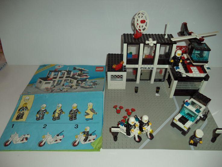 vintage lego instructions