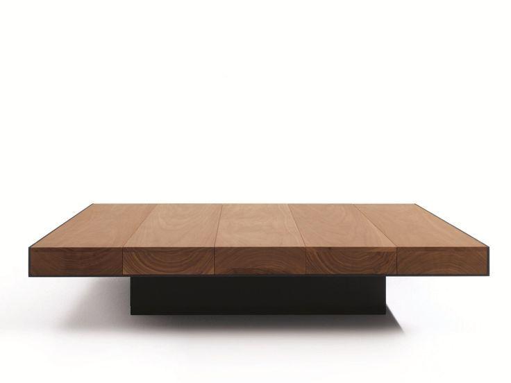 Impressionnant Grande Table Basse Carree Bois Coffee Table Wood