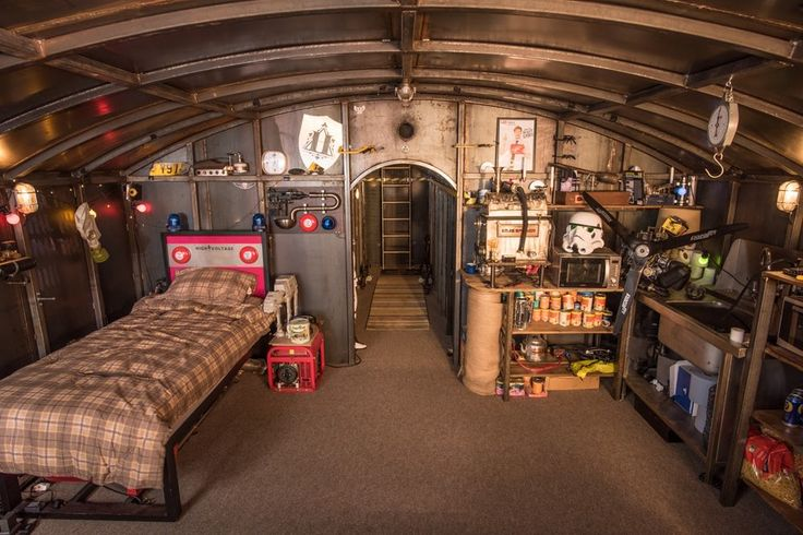 The Colin Furze Secret Bunker is in the Not A Shed category