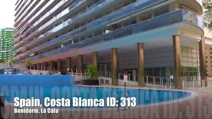 Апартаменты для аренды у пляжа La Cala Бенидорма, Испания. Высокий сезон...