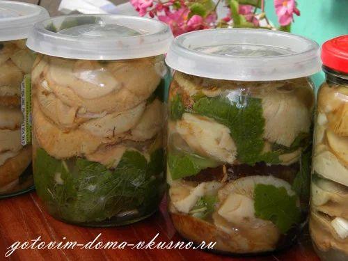 Соленые грибы | Про рецептики - лучшие кулинарные рецепты для Вас!