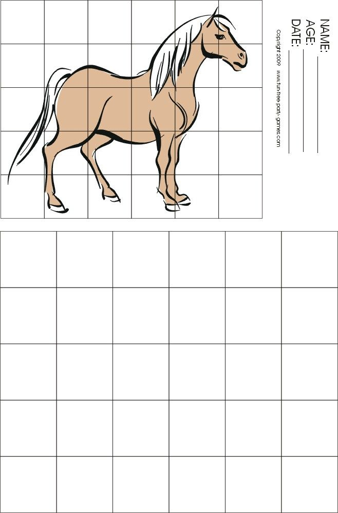 Horse grid drawing  See student art here: http://megapixelsart.wix.com/artlessons#!student-gallery/cuaq
