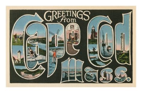 Greetings from Cape Cod, Mass: Vintage Capes, Spaces, Massachusetts Vintage, Favorite Places, Greeting, Personalized Favorite, Capes Cod Ma, Vintage Linens, Linens Postcards